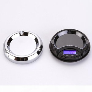 Mini Ashtray Pocket Portable Jewelry Scale 0.01g 0.1g Electronic Scale Gold Scale