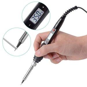 Cell Phone Repairing Tools 80W 220V Temperature Adjustable LCD Electric Soldering Iron Welding Solder Kit Home Repair
