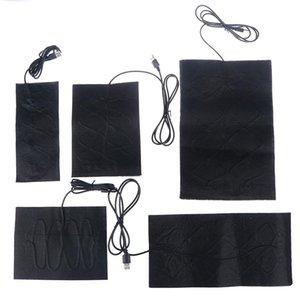 Carpets Portable USB Warm Paste Pads Fast-Heating Carbon Fiber Heating Pad Safe Warmer For Cloth Vest Jacket Shoes Socks
