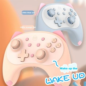 IINE Cat 4nd Wireless Controller For Nintendo Switch  Switch Lite Gamepad Joystick Voice Wake UP Headphone Plug