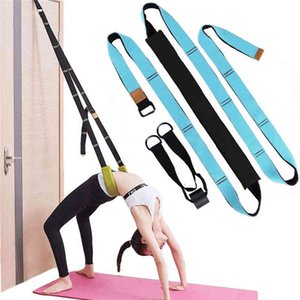 Yoga Resistance Bands Double Thickening Strap Accessories Belt Door Split Legs Auxiliary Equipment Leg Press Lacing Stretch Aid