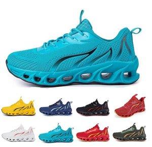 Zapatos para correr para hombres Triple Blanco y negro Moda Mujeres transpirable deportes deportes al aire libre Sportshoe 40-45 Color41