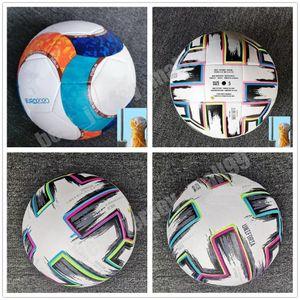 2021 2022 Top quality European Cup Soccer ball size 5 Final KYIV PU balls granules slip-resistant football