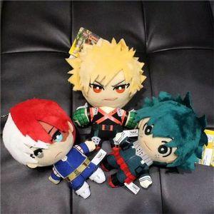 Anime My Hero Academia Plush Toy Izuku Midoriya Katsuki Bakugo Shoto Todoroki Stuffed Doll Toys for Children Birthday Xmas Gifts