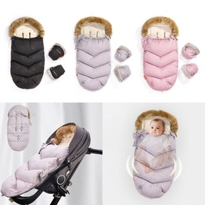 Baby Infant Stroller Footmuff Winter Autumn Windproof Thicken Warm Sleeping Bag Swaddle Wrap Blanket For Pram Buggy Pushchair Bags