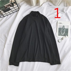 Men's T-Shirts Long-sleeved T-shirt Trendy Casual Personality Loose Clothing VZHA