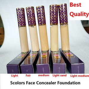 Face Concealer Cream Foundation concealers 5colors Fair Medium Light sand 10ml