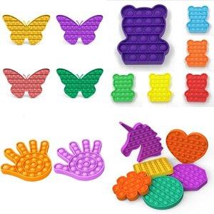 US-Lager Pops IT Push Blase Blase Zappeln Sinnes Spielzeug Stress Reliever Toys Erwachsene Kind Lustige Antistress Spielzeug Squishy Jouet pour autiste 0599 T2
