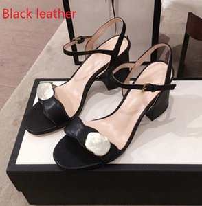 Hottest Heels With Box Women shoes Quality Sandals Heel height 7cm and 5cm Sandal Flat shoe Slides Slippers by shoe10 05
