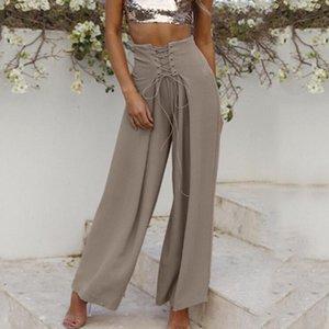2020 New Wienter Loose Plus Size Leisure Women Pants Solid Color Elegant Ladies Pant Fashion High Quality Female Bottoms