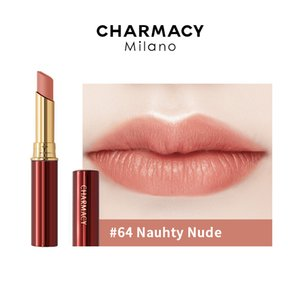 CHARMACY 2021 Velvet New Red Sticks Soft Waterproof Nude Sexy Pink Lip Stick Easy to Carry High Quality Professional Makeup