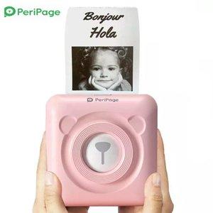Printers Thermal Printer Mini PeriPage 203dpi Portable Wireless Po Receipt A6 Label For Phone High Definition Printing