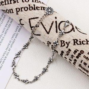 925 Sterling Silver personalized Cross Bracelet Fashion Women's Japanese and fashion simple women's bracelet K