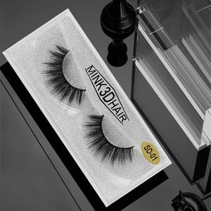 3D Eyelashes Mink False Lashes Makeup Beauty Tools Natural Thick Fake Eye Lash 20 Styles