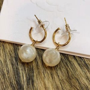 High Quality luxury Design brass Stud earrings pearl stardangle eraing Jewelry For Women Party Gifts