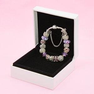 Überzogene Temperament-Schmetterlings-Charm Silber für Pandora DIY Perlen Damenarmband Hohe Qualität mit Original Box12el