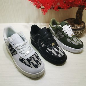 """D-Wander D-I""""OR B""""23 high-quality 1.1 genuine leather green shoe Men Women Low Cut One 1s Casual shoes White Black Dunk Sports Skateboard Classic Trainers Sneakers 36-45"""