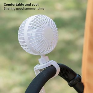 Portable Mini Electric Fan Baby Car Strap Band Rechargeable Incense Carriage Air Cooling Infant Stroller Fans Parts & Accessories