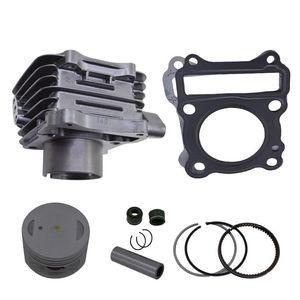 Silver STD 150cc For KEEWAY RKV150 RKS150 RKV RKS 148 EGR Motorcycle Cylinder Piston Gasket Rebuild Kit Engine Assembly