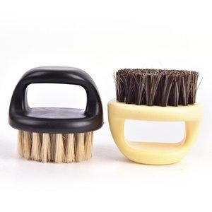 3colors Men Mustache Kit with Gift Bag Hair Comb Set Soft Boar Bristle Wood Beard Brush Hairdresser Shaving Tool