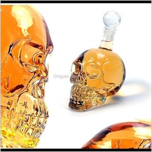 Other Bar Products Creative Crystal Skull Head Whiskey Vodka Wine Decanter Bottle Whisky Beer Glass Spirits Cup Water Jllnqv Wywfg Tfjaj