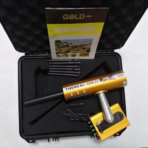 Real Gold AKS 6 Antennas With Removable 9V BatterIes For Underground Detect Silver Gem Diamond Metal Detectors