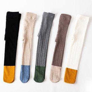 4 Styles Baby Leggings Kids Cotton Pantyhose Girls's Tights Toddler Autumn Stockings Spring Princess Pants Pant Sock M3355