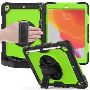 for iPad pro 9.7 cases air 4 2 6 10.9 T307 T580 T510 P610 Rugged Tough Impact Hybrid Armor Cover Silicone PC Defender Shell