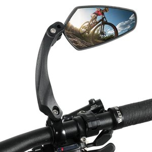 Bike Groupsets 360 Rotating Bicycle Handlebar Reflector Rear View Mirror Mountain Wide-Range Angles Accessories