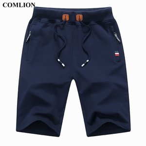 Comlion Nuovo Arrivo Uomo Pantaloncini Estate Brand Casual Shorts Mens Cotton Homme Elegante Casual Beach Shorts Brevi pantaloni maschili Plus 1A 210329