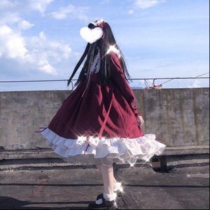 Gothic Womens Dresses Lolita Dress Women Soft Sisters Victorian Medieval Lace Red Blue Pink Party Female Princess Halloween Costume