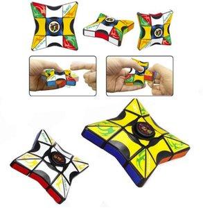 Zauberwürfel Finger Spinner Zappeln Würfel Party Gunst Spinning Top EDC Anti-Stress Rotation Spinners Dekompression Neuheit Spielzeug für Kinder Erwachsene