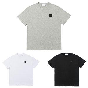 T-shirts hommes de haute qualité coton manches courtes Designers ronds cou t-shirt été badge de mode estivale femmes t-shirts Streetwear occasionnel tees vêtements vêtements
