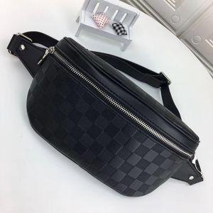 N40298 N40326 N40362 CAMPUS waist bag men waists belt bumbag classic leather fashion man Fannypack chest shoulder bags women cross body