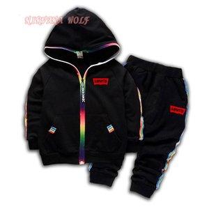 LEVlS Brand Luxury Designer Baby Boys 1-4T Girls Suit Brand Tracksuit Kid Clothes Set Fashion Autumn Children Long Sleeve Sweater Sets