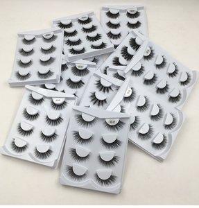 3D Mink Lashes Faux Eyelashes False Dramatic Volume Lash Eyelash Extension for Makeup