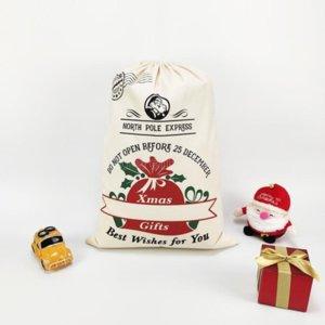 Сторона украшения рождественские подарочные сумки рождественские элементы пикап грузовики деревьев Christma сумки чистый ватный пучок рот конфеты кармана Tiktok DHL быстрый CY23