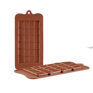 24 Grids Rectangle Silicone Moulds Chocolate Cake Molds Food Grade DIY Baking Mould Ice Cube Jelly Mold Home Kitchen Tool HHA8787