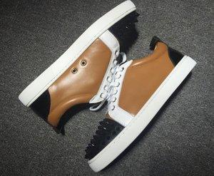Luxury Design Elastikid Red Bottom Shoes Platform Casual Reds Bottoms Loui Junior Orlato Flat Classic Men Women Spikes Suede Designer Dress Sneakers EU 35-47