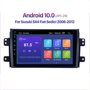 Android 10.0 RAM 2+32G Car dvd Radio Audio GPS Player For Suzuki SX4 2006-2013 Fiat Sedici 2005-2014 9 Inch 2Din QLED screen