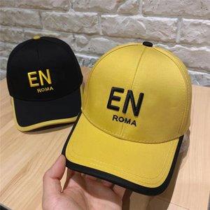Summer Designer Baseball Cap F Brand Ball Cap Men Designer Caps Fashion Bucket Hat Casual Black And Yellow Womens Fitted Hats