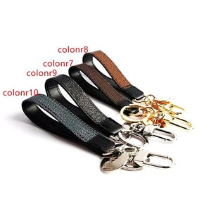 2020 new Keychains Keychain Buckle lovers Car Keychain Handmade Leather Keychains Men Women Bag Pendant Accessories Keychains