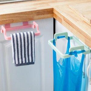 صناديق النفايات القمامة حقيبة القمامة رف ربط حامل تخزين شنقا خزانة خزانة الباب مطبخ اكسسوارات الحمام