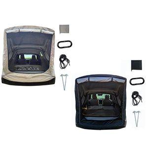 Палатки и укрытия Автомобильный багажник Палатка Палатка SUV Универсальный Универсальный удлинитель для себя воздуха Открытый кемпинг Дождь Солнцезащитный тент