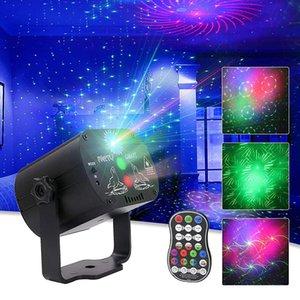 60 Patterns RGB Lighting LED Disco Light 5V USB Laser Projection Lamp Show for Home Party KTV DJ Dance Floo