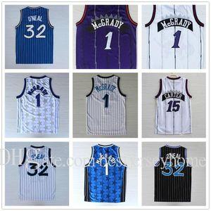 Top Qualité Penny 15 Carter Jerseys Tracy 1 McGrady Jerseys 32 O'Neal Jersey Stitched College Chemises Mens Vince 1 Hardway Shirt Basketball
