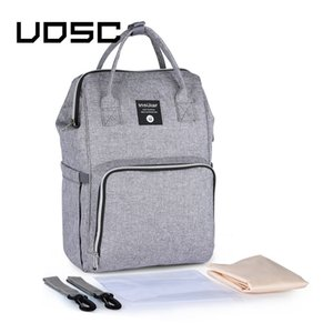 UOSC Fashion Backpack Women Leisure Back Pack Korean Ladies Knapsack Casual Travel Bags School Girls Classic Bagpack For Mummy 201119
