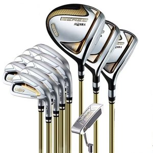 Set completo Honma S-07 Golf Club Driver Fairway Woods Irons + Free Golf Ptter