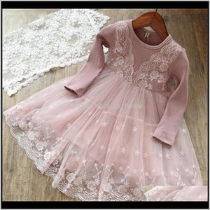 Baby, & Maternity Drop Delivery 2021 3 4 5 6 7 8Yrs Beige Wedding Dress For Baby Kids Winter Flower Dresses Girls Party Clothing Princess Pag