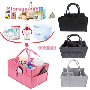 Baby diaper tissue bag, baby diaper finisher, crib storage basket, durable, practical and environment-friendly polyester dustbin 2 J0526